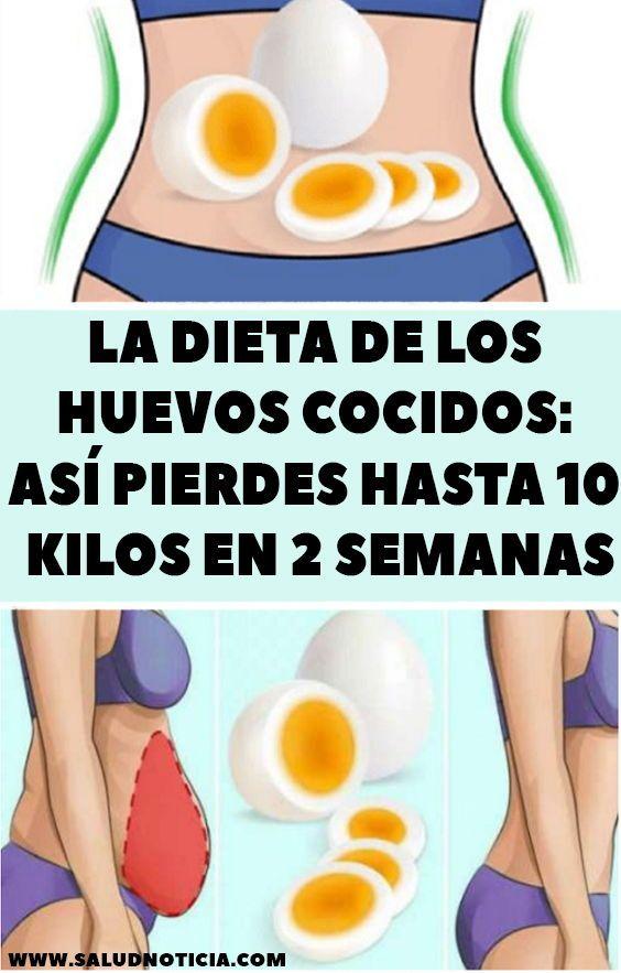 La Dieta De Los Huevos Cocidos Así Pierdes Hasta 10 Kilos En 2 Semanas is part of Diet -