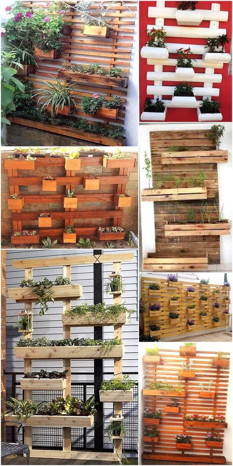 Fresh Recycling Ideas For Used Wooden Pallets Diy Wall Planter