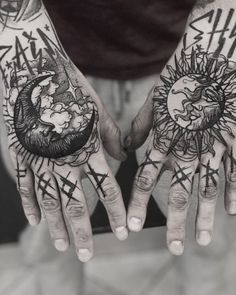 Check out our website for more Tattoo Ideas 👉 positivefox.com #tattooonarm #inkedguys #handtattoos