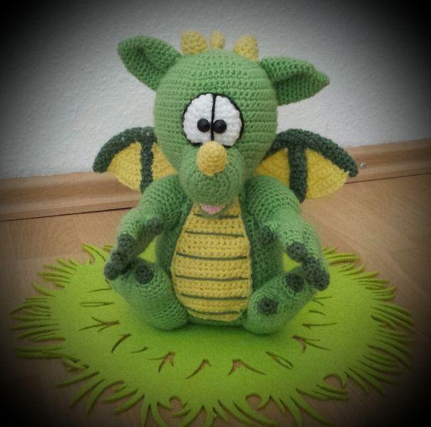 Kleiner Drache Lollo Pdf Häkelanleitung Amigurumi And Crochet