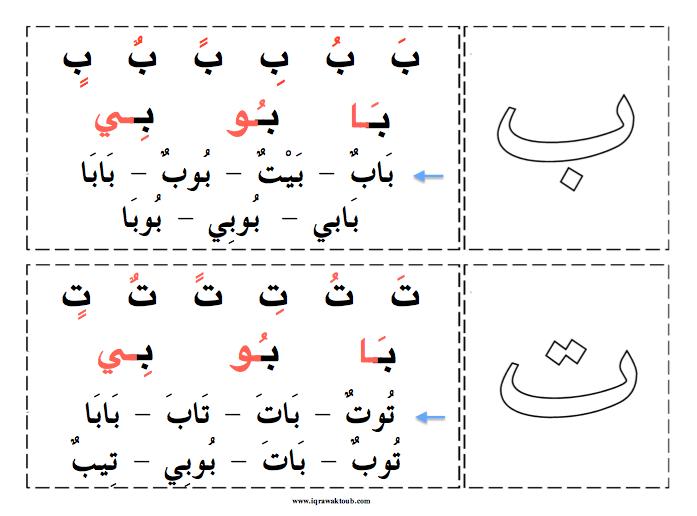 Iqra Wa Ktoub Apprendre L Arabe Apprendre L Alphabet Apprendre L Alphabet Arabe