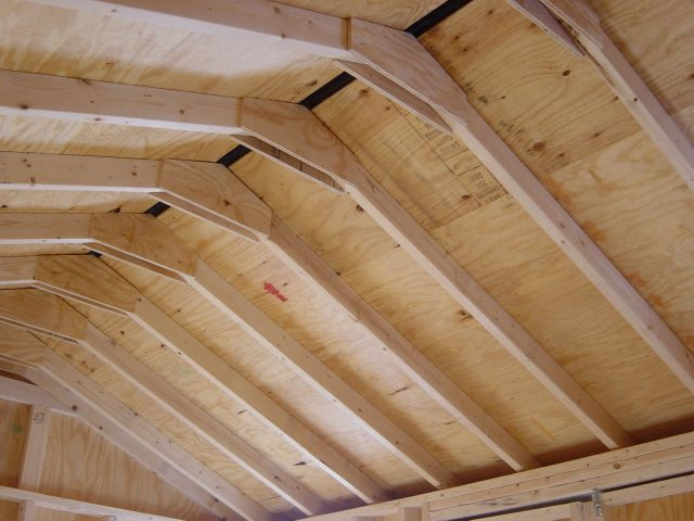 How To Build A Shed Roof2 Jpg 640 480 Pixels Building A Shed Roof Wood Shed Plans Shed Plans