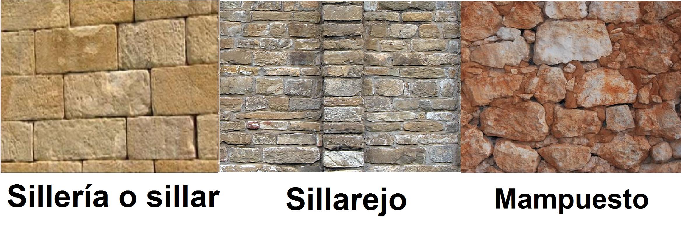 Siller a sillarejo y mamposter a t cnicas medios - Tipos de mamposteria de piedra ...