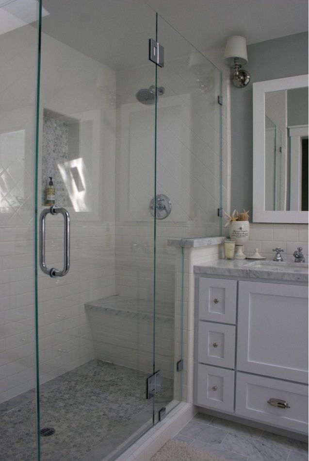 Pulled From Houzz Com With Images Master Bathroom Shower