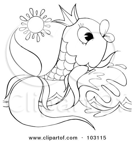 surfboard coloring  Outlines Of Fish  Coloring pages for