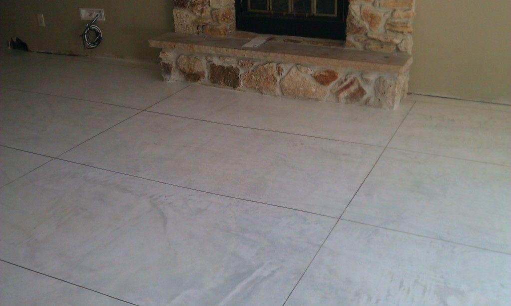 Decorative Travertine Tile Semco Waterproof Decorative Concrete Used To Create A Travertine