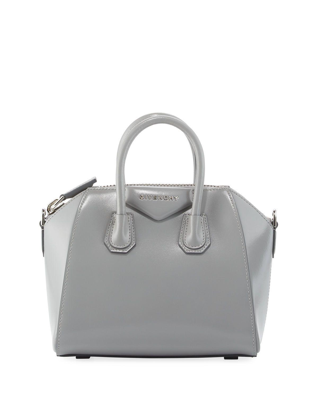 d9aa21d8fd Givenchy Antigona Mini Box Calfskin Satchel Bag
