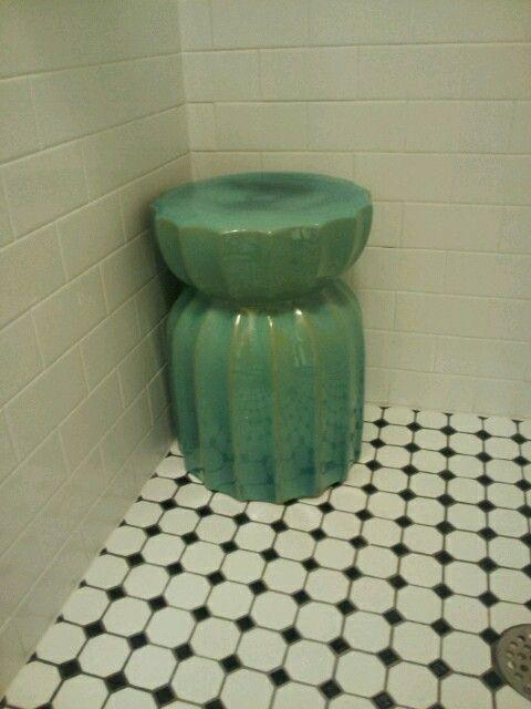 Ceramic Garden Stool Aka Shower Stool Shower Stool Ceramic Garden Stools Shower Seat