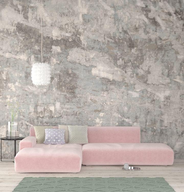 #removablewallpaper #wallpaperideas #wallpaper #wallpaperinspo #peelandstickwallpaper #concretewallpaper #accentwallpaper