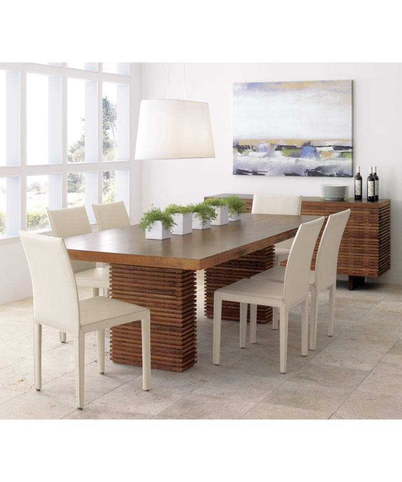 Shop Dining Room Kitchen Tables Online Crate And Barrel Reclaimed Wood Dining Table Dining Table Square Dining Tables