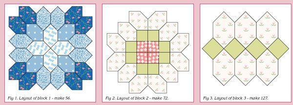 Patchwork der Kreuze - Quilts (Anfänger)