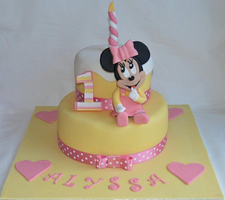 gâteau d'anniversaire thématique – 55 idées 1er an de bébé | cake