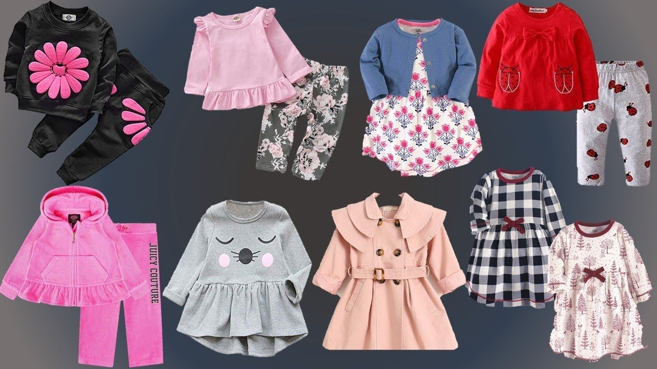 Beautiful Kids Winter Dresses 8 months to 8 Years Baby  Baby