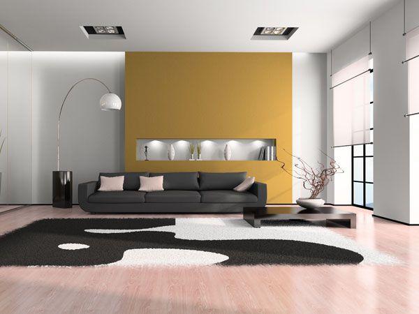 Originelle Und Stilvolle Tipps Für Die Wandgestaltung Des Wohnzimmers.  Schaffen Sie Sich Durch Individuelle Wohnzimmer Wandgestaltung Ihre Eigene  ...