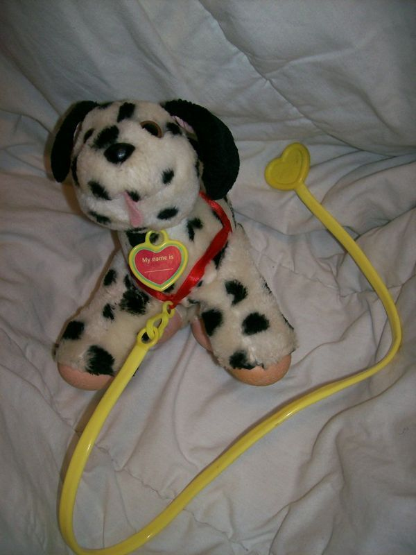 Tuggles Dalmatian Puppy Toy With Leash Just Remembered I Owned