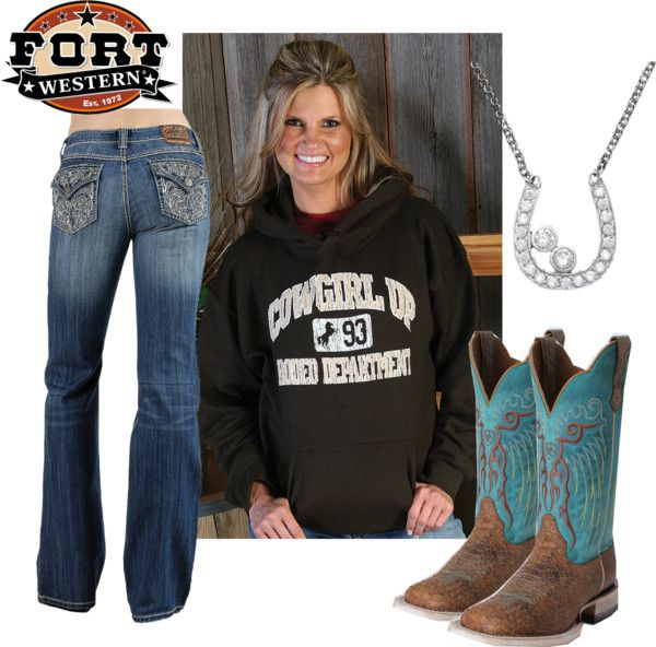 """Casual Cowgirl"" by annemarie-i on Polyvore"