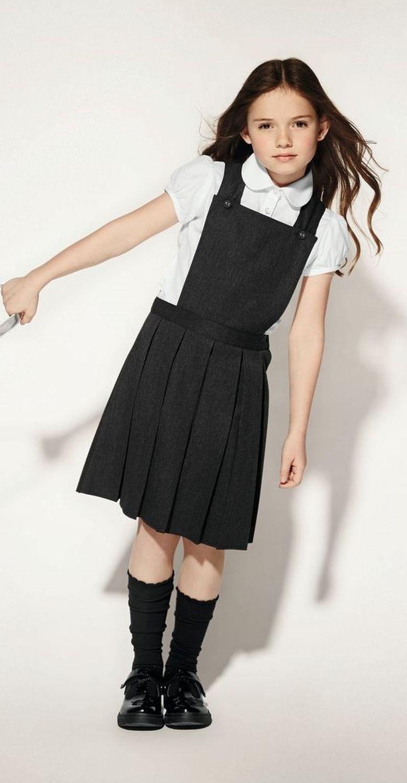 School girl dress-9900