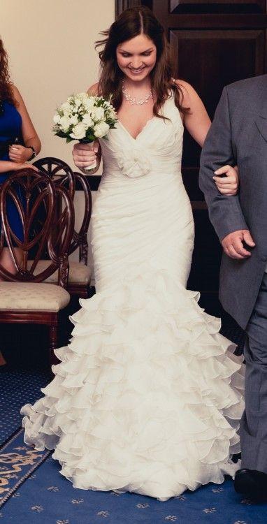 760b6c6f4afb Pronovias - Galante - Fishtail - Ivory - Size 12 wedding dress for sale in  Chessington, Surrey   Still White United Kingdom