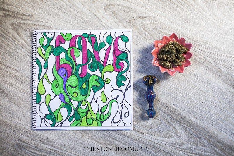 The Stoner S Coloring Book Coloring For High Minded Adults Coloring Books Color Books