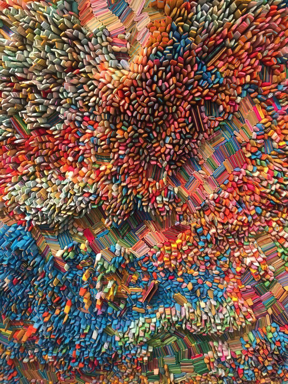Installation with Paper Miami | Art | Pinterest