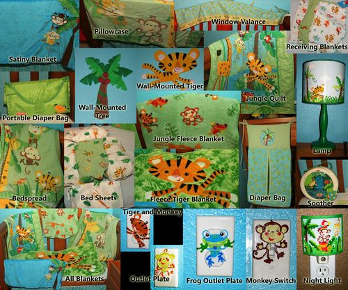 fisherprice rainforest bedroom decor
