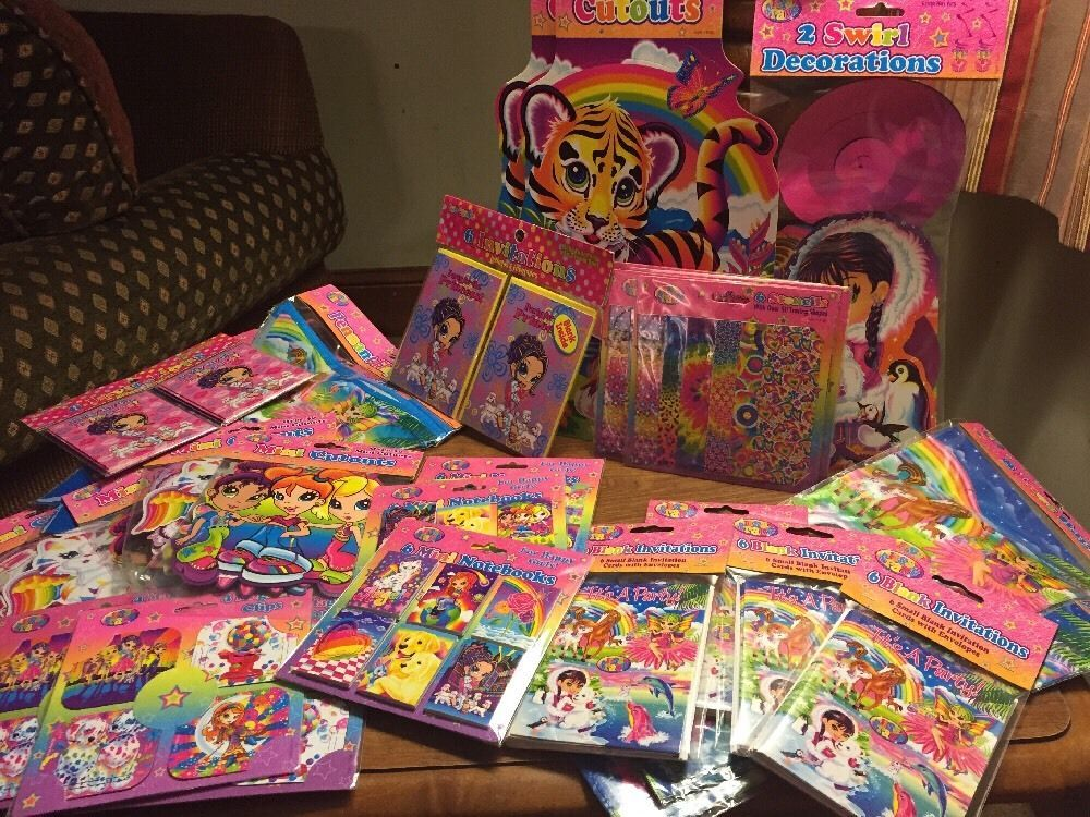 Details About Lisa Frank Party Girls Birthday Decorations Favors