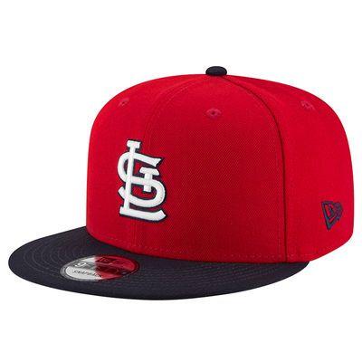 timeless design 2193b 70eb6 Men s New Era Red St. Louis Cardinals Team Patcher Adjustable Hat
