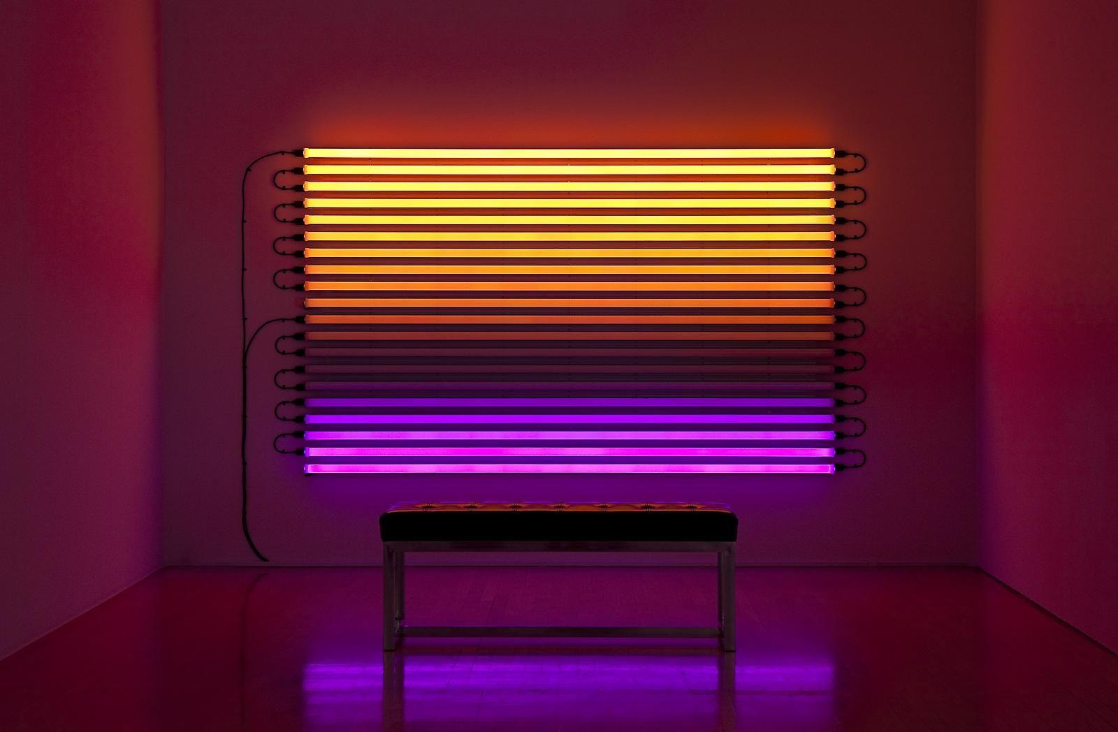 Leo Villareal. Light art installation