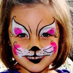 easy face painting catcat face paintings on pinterest