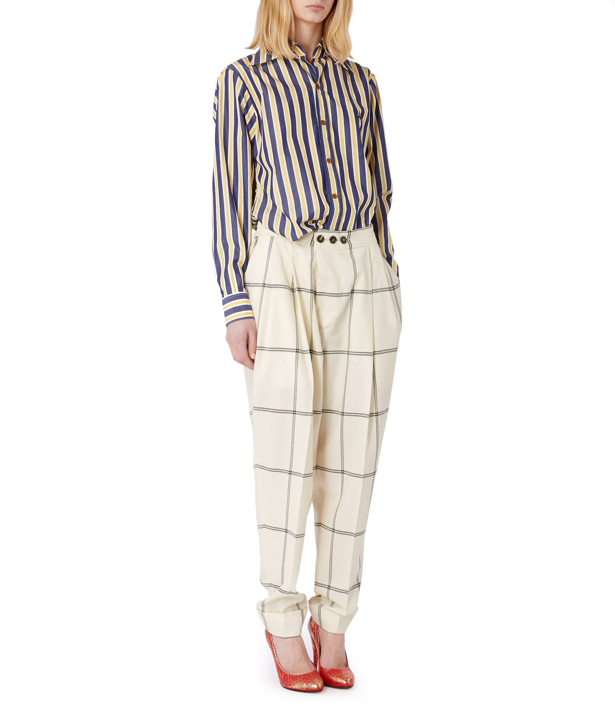 superior quality wholesale price great deals Zoot Trousers White Check | Fashion | Trousers, Clothes for ...