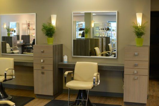 This Custom Commercial Cabinetry Was Designed For A Local Hair Salon In Sioux  Falls, SD