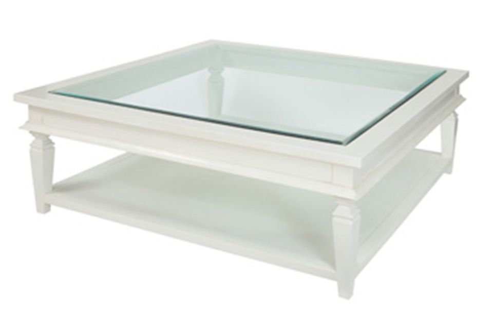 White Square Coffee Table Coffee Tables Xavier Furniture Hamptons
