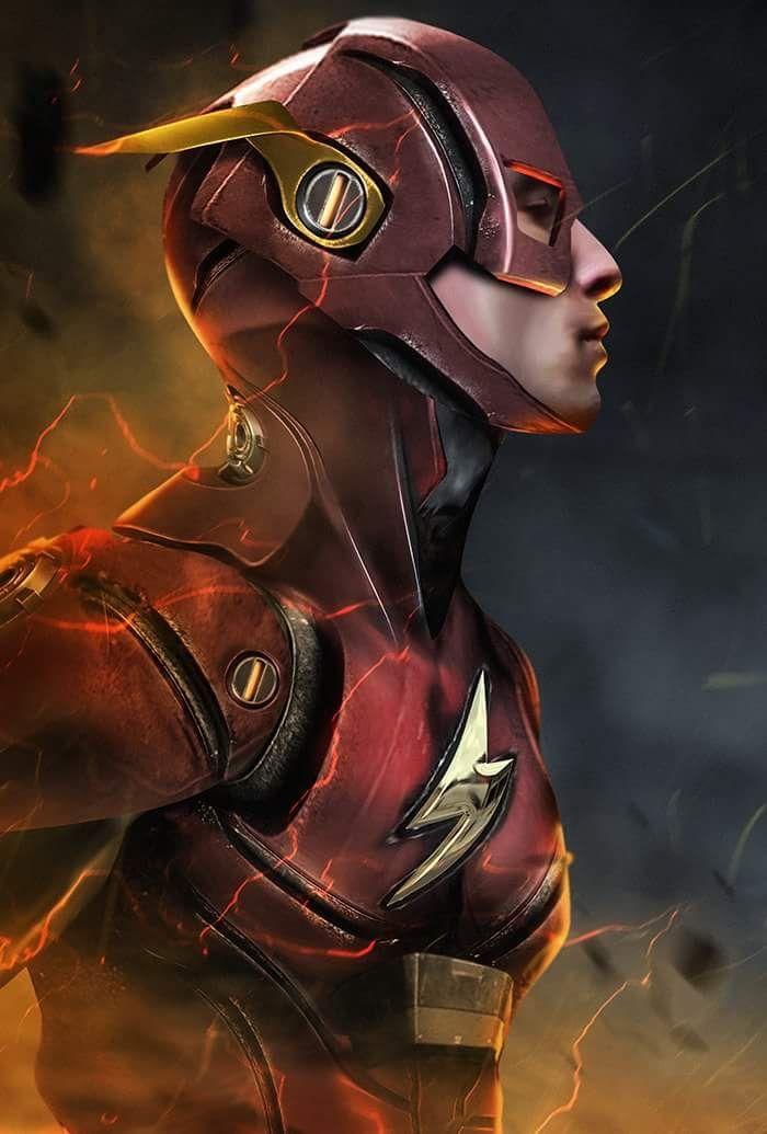 Ezra Miller as The Flash by Bosslogic