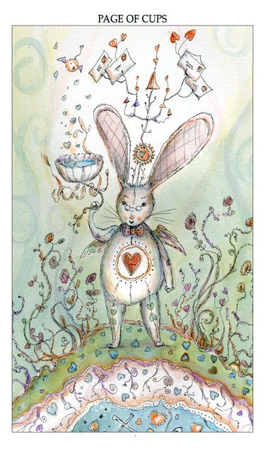 Paulina Cassidy Tarot - Page of Cups