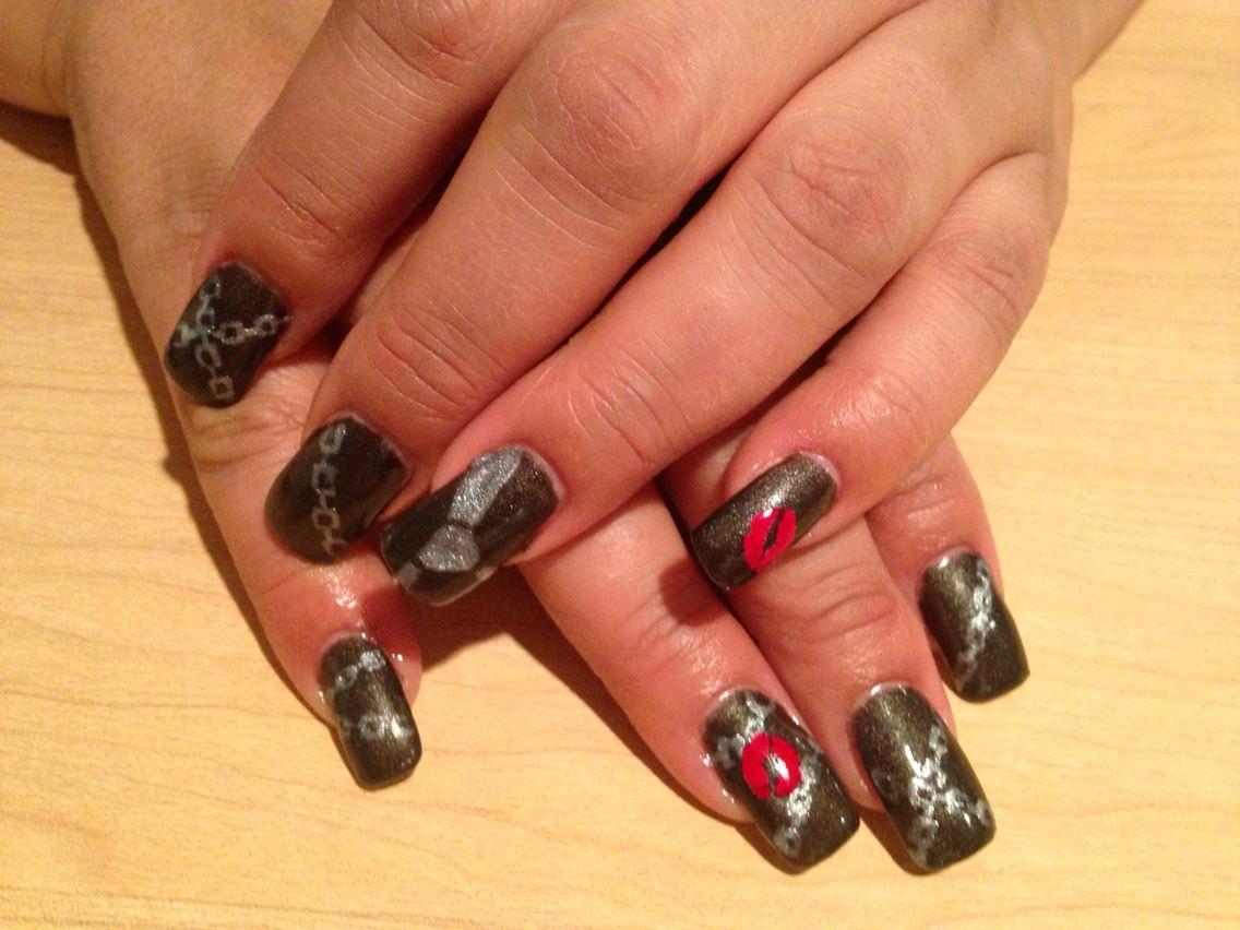 50 shades of grey nails Gray nails, Nails, Nail tech