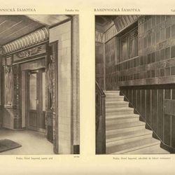 Art Deco Imperial Hotel - Hotel interiors in 1914