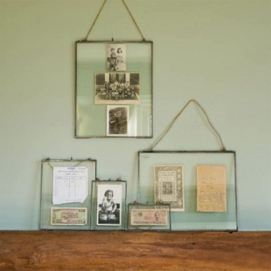 Glass Hanging Frame Zinc Hanging Picture Frames Hanging