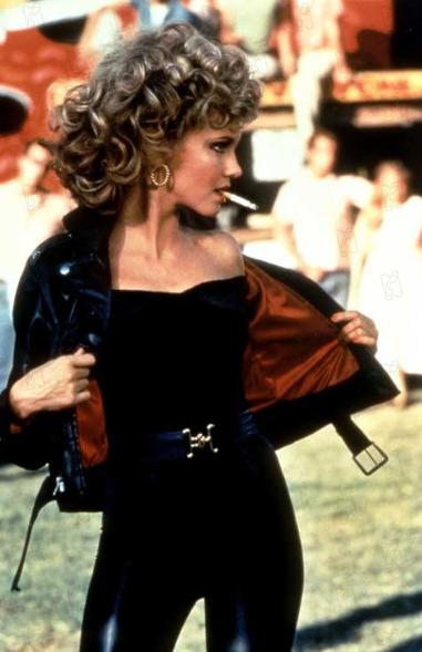 Olivia Newton-John as Sandy in Grease.