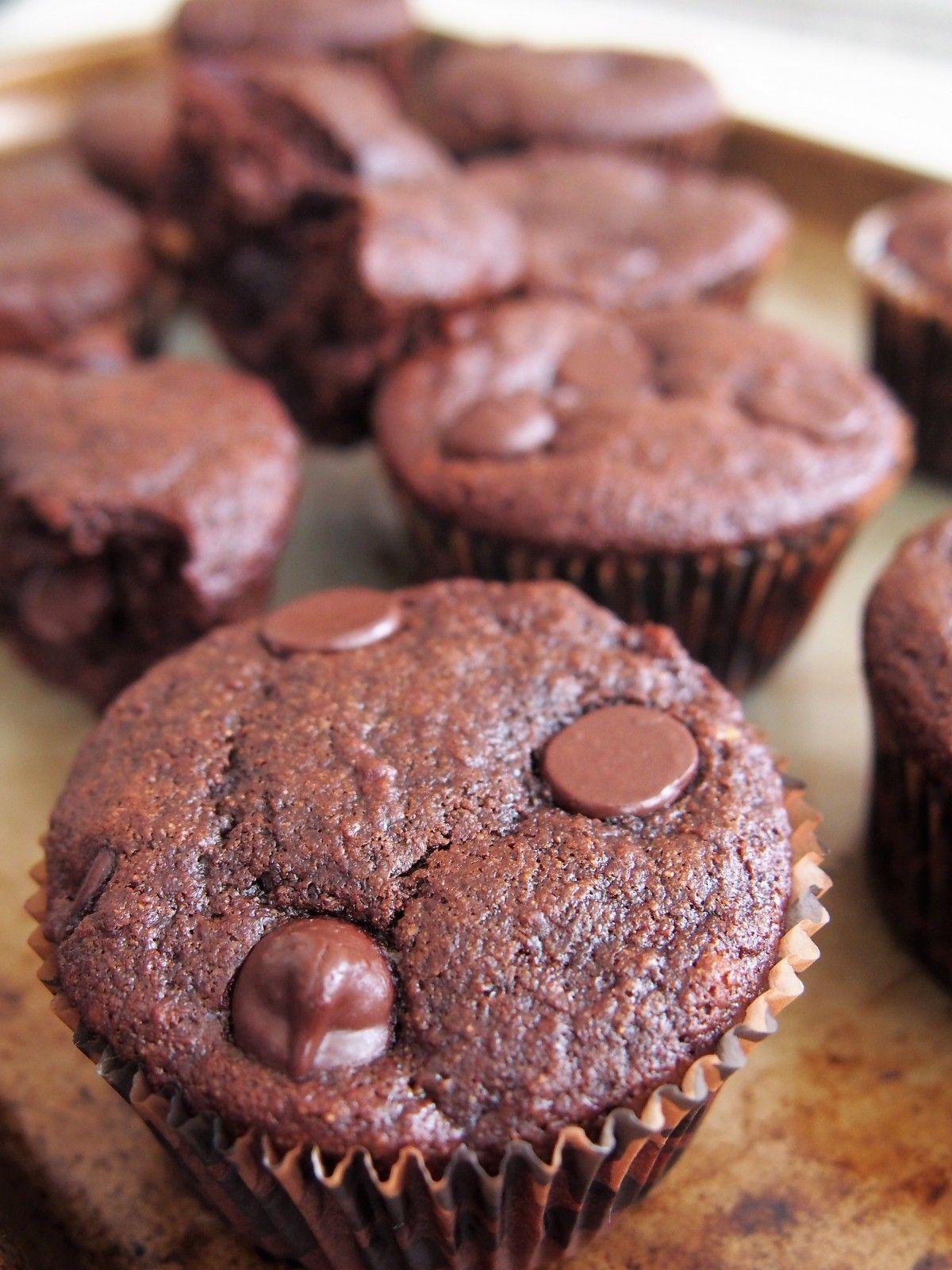 Protein Packed Chocolate Banana Kodiak Cake Muffins Forks In The Road Recipe Kodiak Cake Muffins Baking Mix Recipes Kodiak Cakes