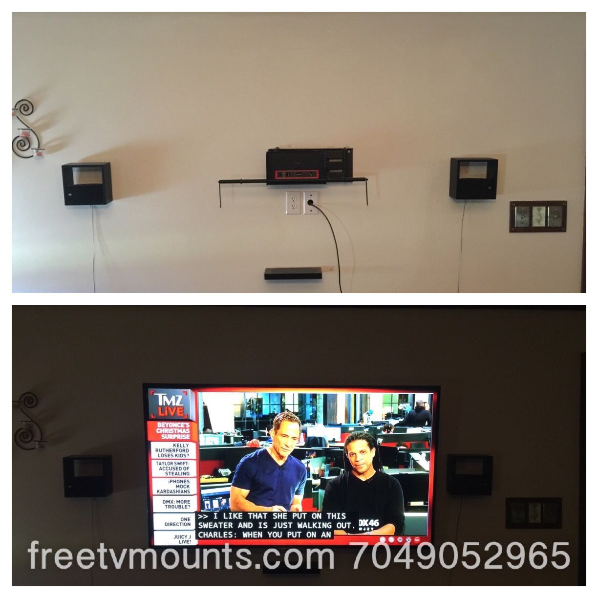 Free tilting tv wall mount with installation our prices
