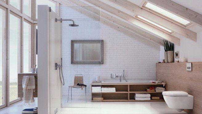 Une douche à l\u0027italienne pour une salle de bains moderne Pinterest - Salle De Bain Moderne Douche Italienne