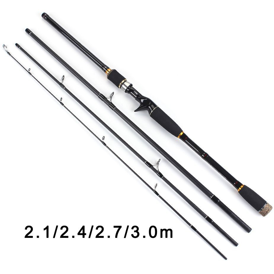1.8m 2.1m 2.4m carbon fiber jigging boat fishing rod