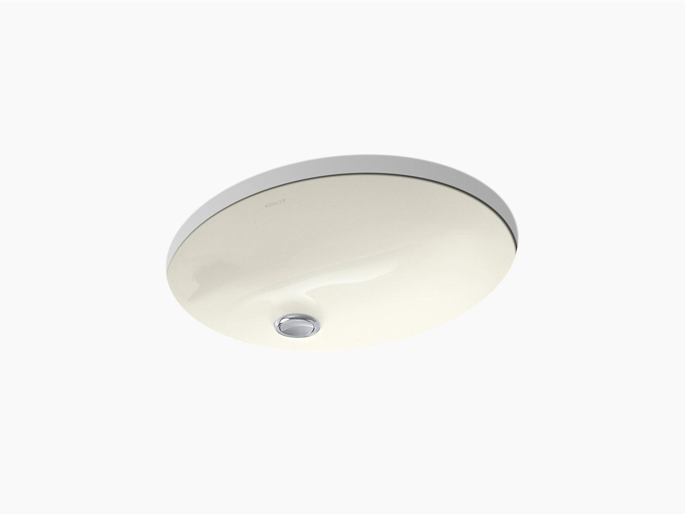 K 2209 Caxton Undermount Sink 15 By 12 Inches Kohler Sink Undercounter Sink Modern Bathroom Decor