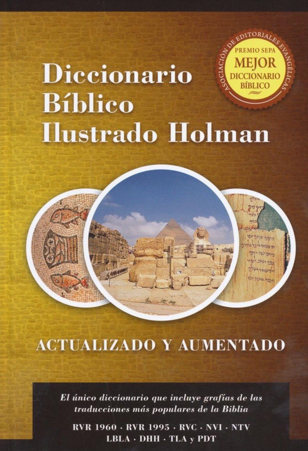 Diccionario B U00edblico Ilustrado Holman Revisado Y Aumentado