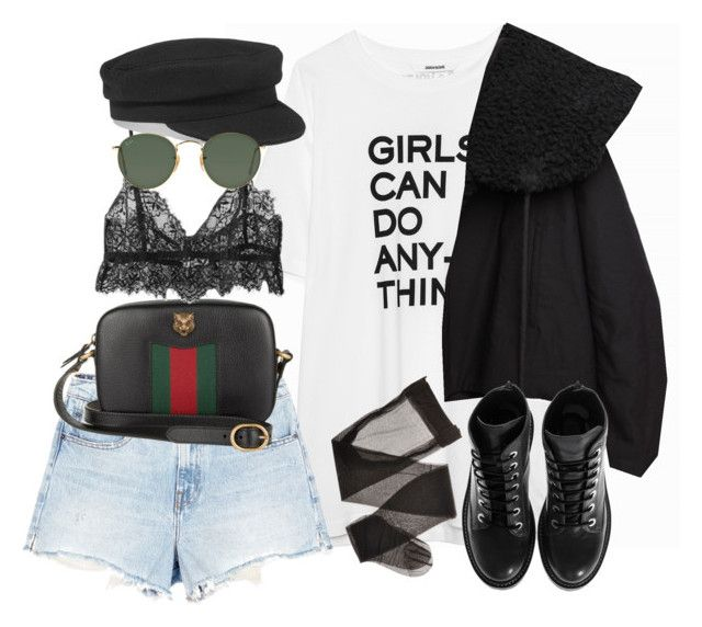 """""""Sem título #1449"""" by oh-its-anna ❤ liked on Polyvore featuring Alexander Wang, Gucci, Étoile Isabel Marant, Ray-Ban, Yohji Yamamoto and Kenzo"""