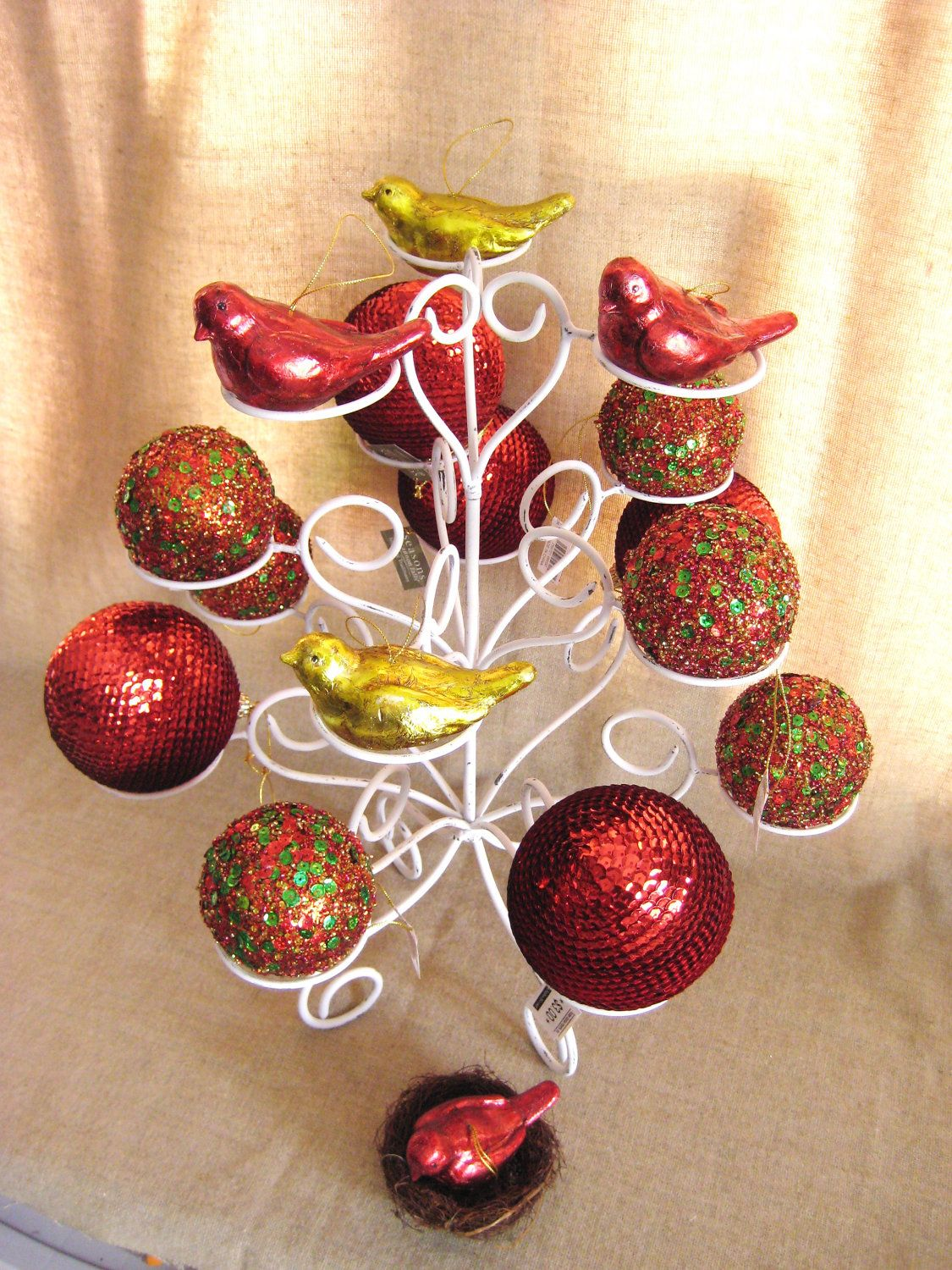 Christmas Ornament Display Tree / Ornament Display Stand ...
