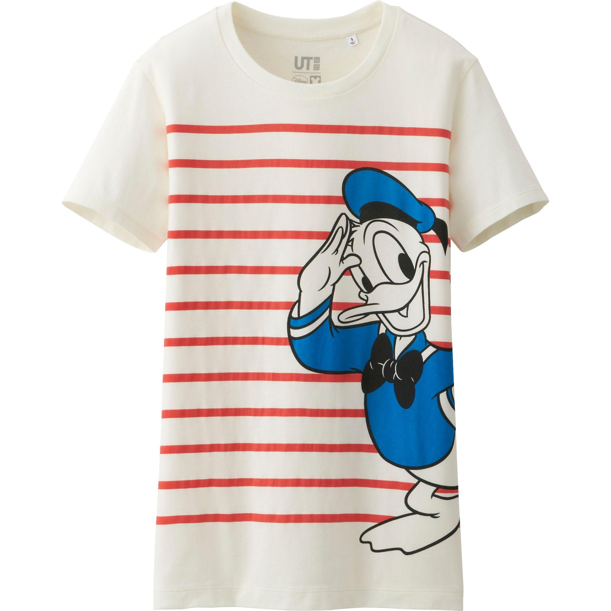 Uniqlo Has A Disney Collection That You Re Going To Love Disney Style Shirt Outfit Women White Graphic Tee Disney Style