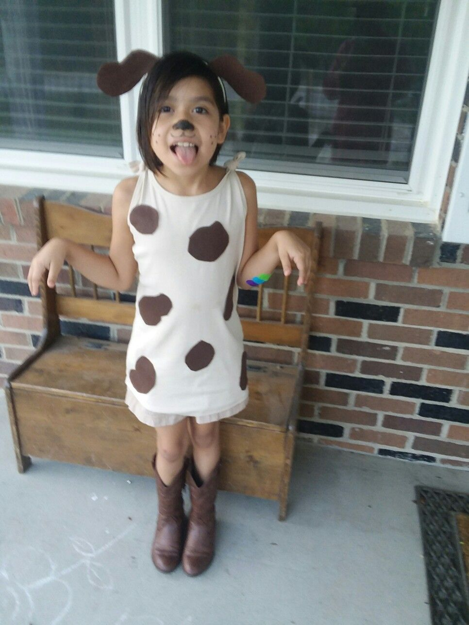 Diy Toddler Dog Costume: Peter Puppy - Letterland Day