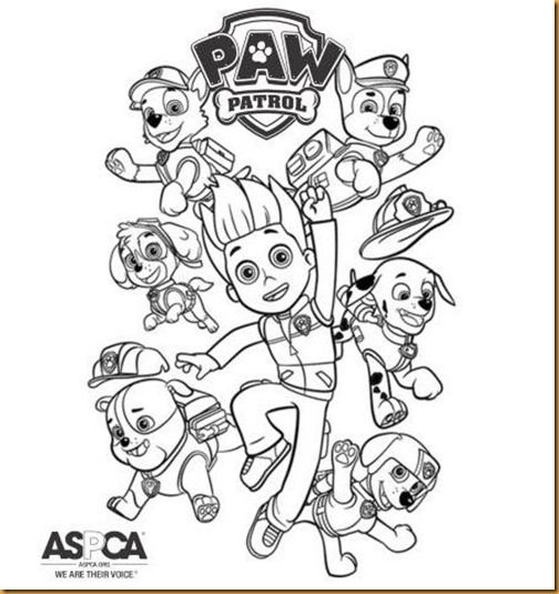 Pin By Vicki Morris On Coloring Pages Colorear Patrulla