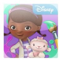 Doc McStuffins Paint And Play App Review
